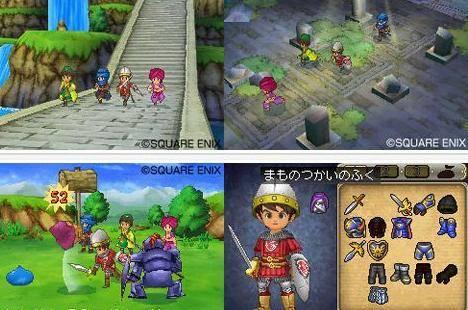 Esta imágen sí es de Dragon Quest IX. :P